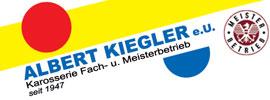 Albert Kiegler - Karosserie Fach- u. Meisterbetrieb